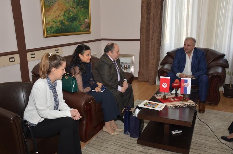 Ambasador Tunisa u ponovnoj poseti Velikom Gradištu 26446