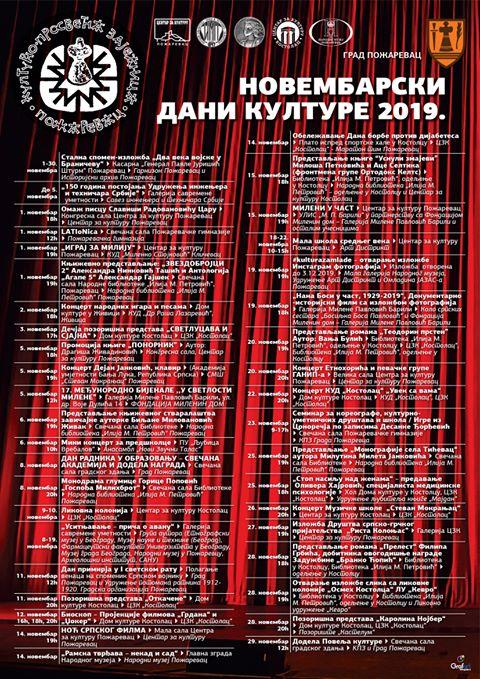 """Večeras počinju """"Novembarski dani kulture"""" 25375"""
