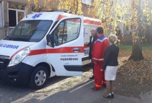 Novo sanitetsko vozilo za požarevački Dom zdravlja 27048