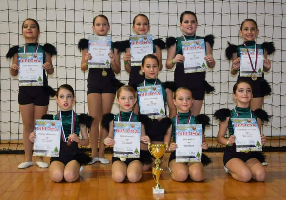 Šest prvih mesta za balerine iz Petrovca na Mlavi 2