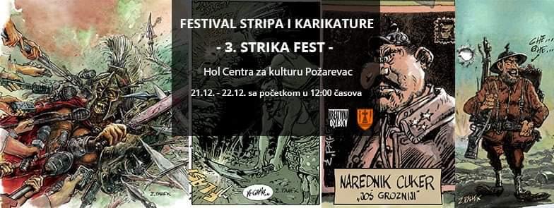 Festival stripa i karikature - 3. STRIKA FEST - 27017