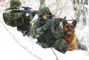 Obaveštenje o izvođenju gađanja iz pešadijskog naoružanja za januar 27490