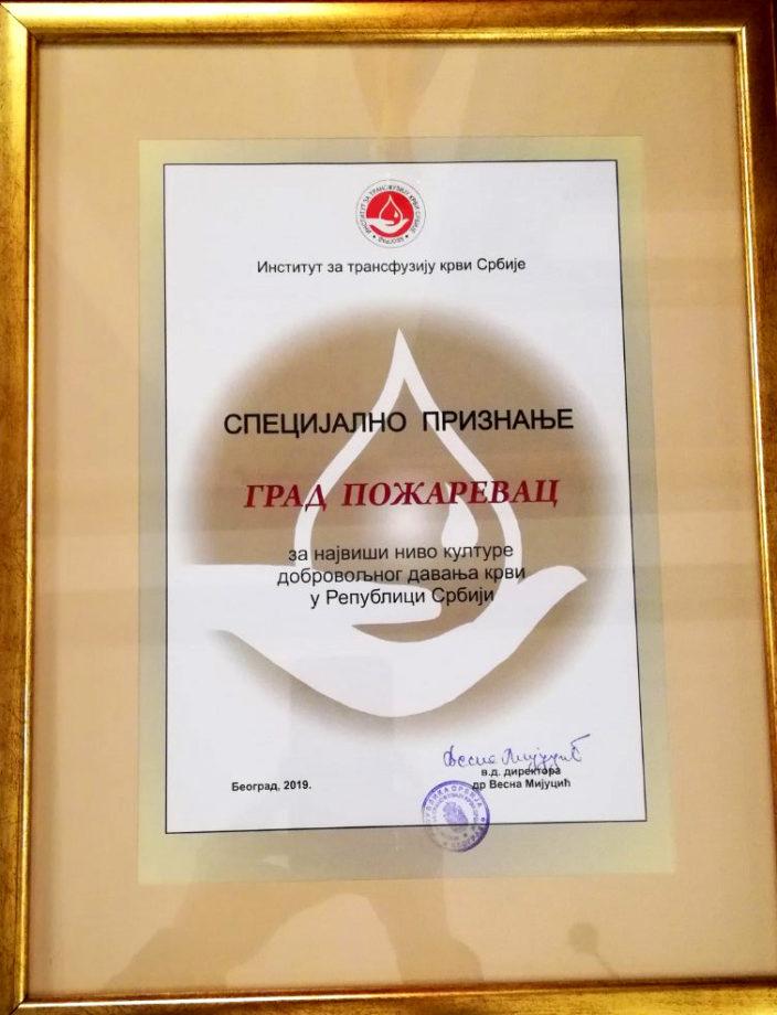 Požarevac po deveti put najhumaniji grad u Srbiji 26994