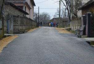 Otvorene novoasfaltirane ulice i trotoar u naselju Tabanovac 28821