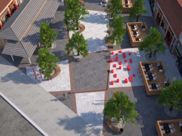 Raspisan tender za rekonstrukciju najužeg jezgra Požarevca - Pogledajte kako će izgledati popularni Čikoš (FOTO 27746