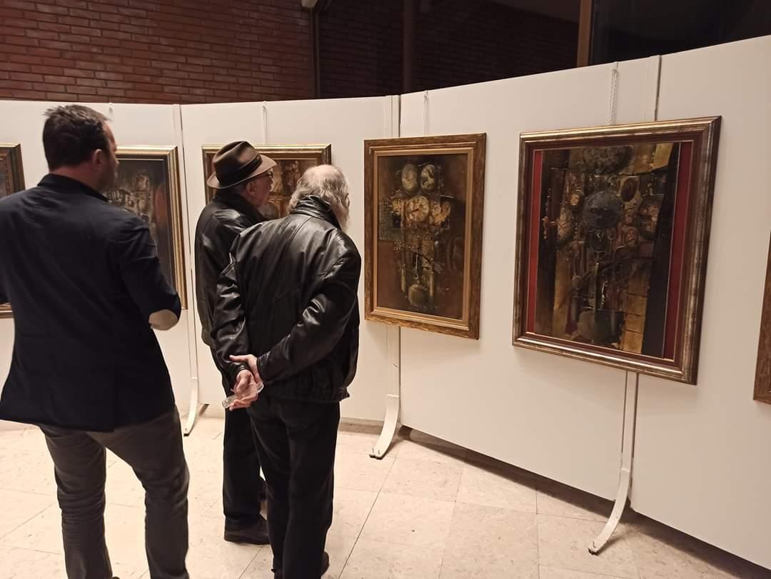 Otvorena izložba slika vojvođanskog umetnika Pavla Blesića 30168
