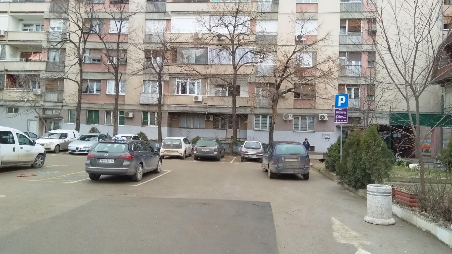 Blokovsko parkiranje na dve lokacije u Požarevcu 29307