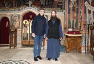 Ministar Zoran Đorđević posetio manastir Tumane 29841