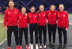 Požarevljanka Jovana Grujić na pripremama teniske reprezentacije Srbije 29415