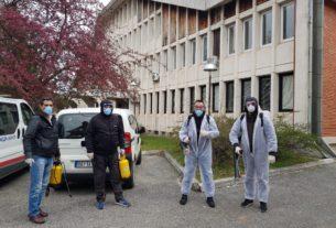 Sprovedene dezinfekcije u opštini Žabari 32447