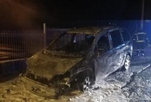 Izgoreo automobil koordinatora Dveri u Požarevcu (VIDEO) 30839