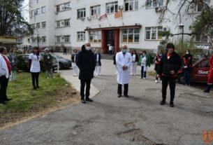 Humanitarni gest za zaposlene na Infektivnom odeljenju požarevačke bolnice 32323