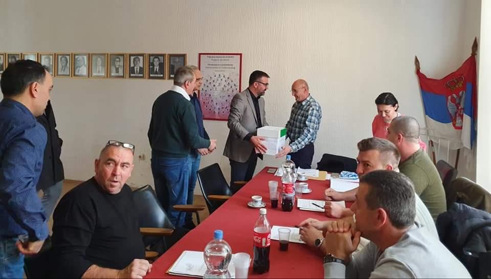 SNS u Žabarima predala listu za lokalne izbore 30990