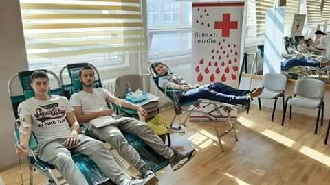 Maturanti Požarevačke gimnazije i Ekonomske škole dali krv i pokazali svoju humanost 31264