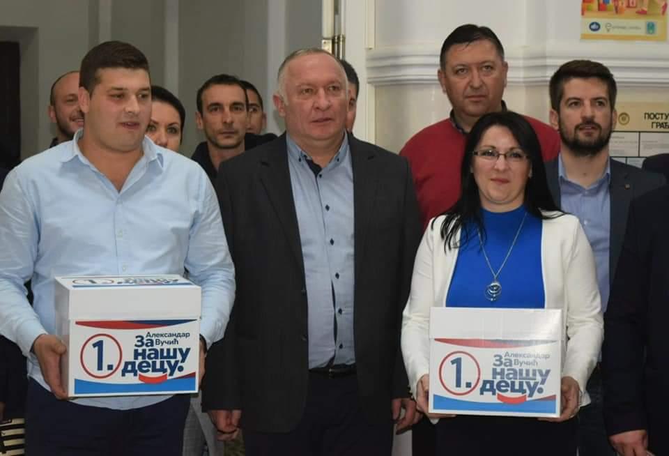 Srpska napredna stranka u Petrovcu na Mlavi predala izbornu listu za lokalne izbore 31293