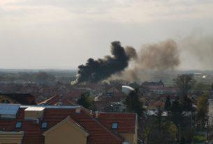 Dva požara buknula u Požarevcu u istom trenutku 33588