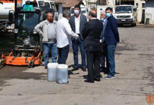 Donirana dezinfekciona sredstva Gradu Požarevcu 34907