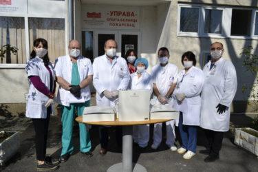 Opšta bolnica u Požarevcu zahvaljuje bratstvu manastira Tumane i svima ostalima koji joj pomažu 34317