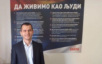 Privedeni članovi požarevačkog GO SP Dveri na skupu u Beogradu oslobođeni 35300