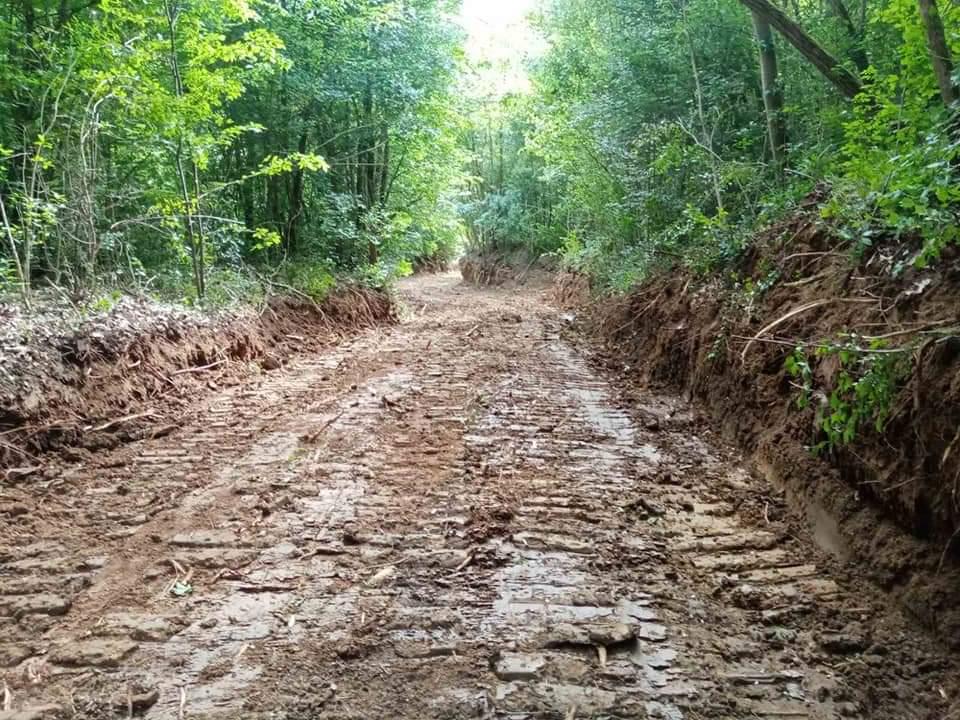 Izgradnja atarskog puta Kamenovo - Ranovac FOTO 35500