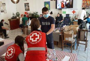 Današnja akcija dobrovoljnog davanja krvi u Požarevcu : prikupljeno 76 jedinica krvi 35991