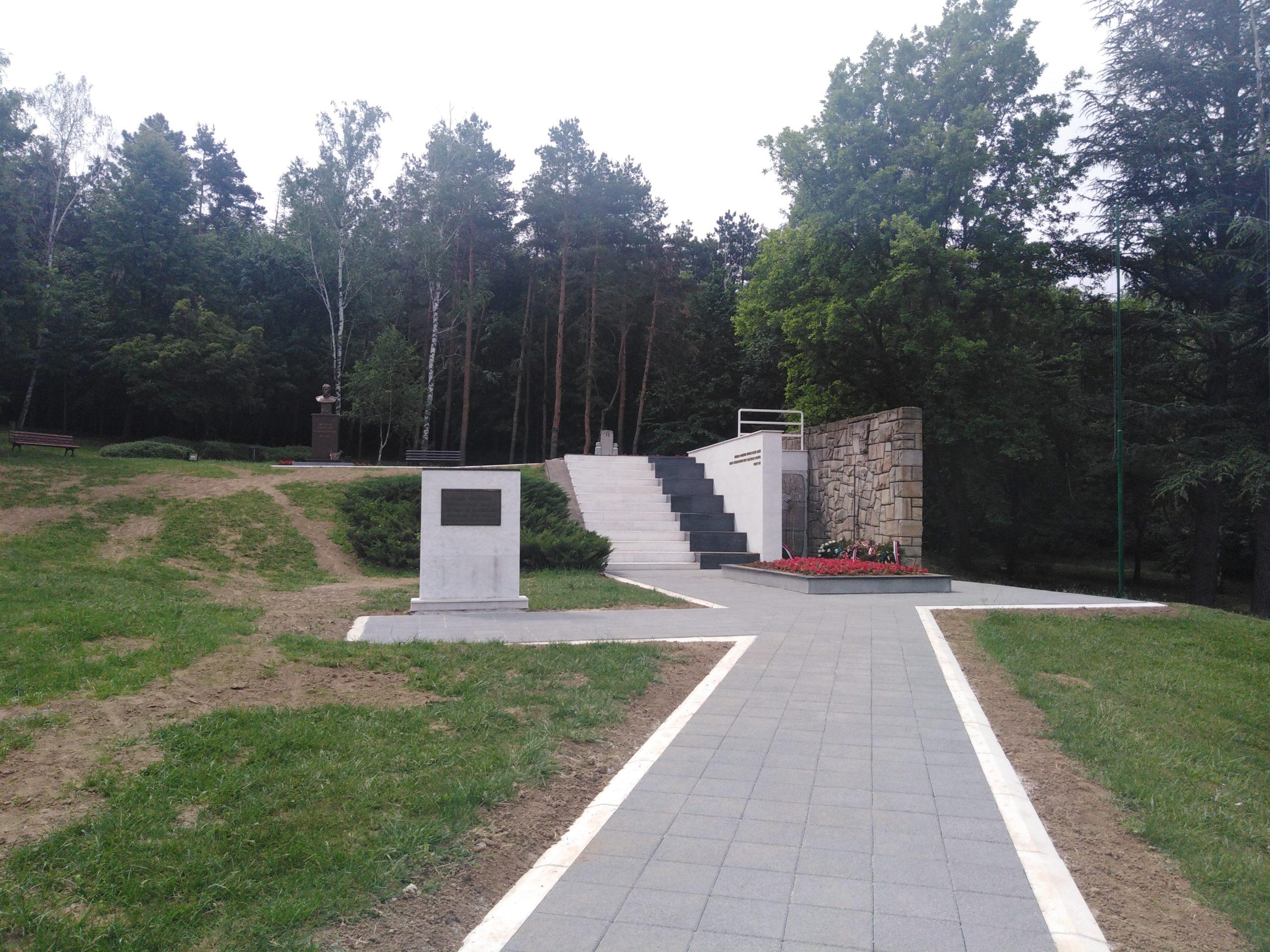 Požarevac : investicioni radovi u Spomen parku Čačalica i na teritoriji grada 35721