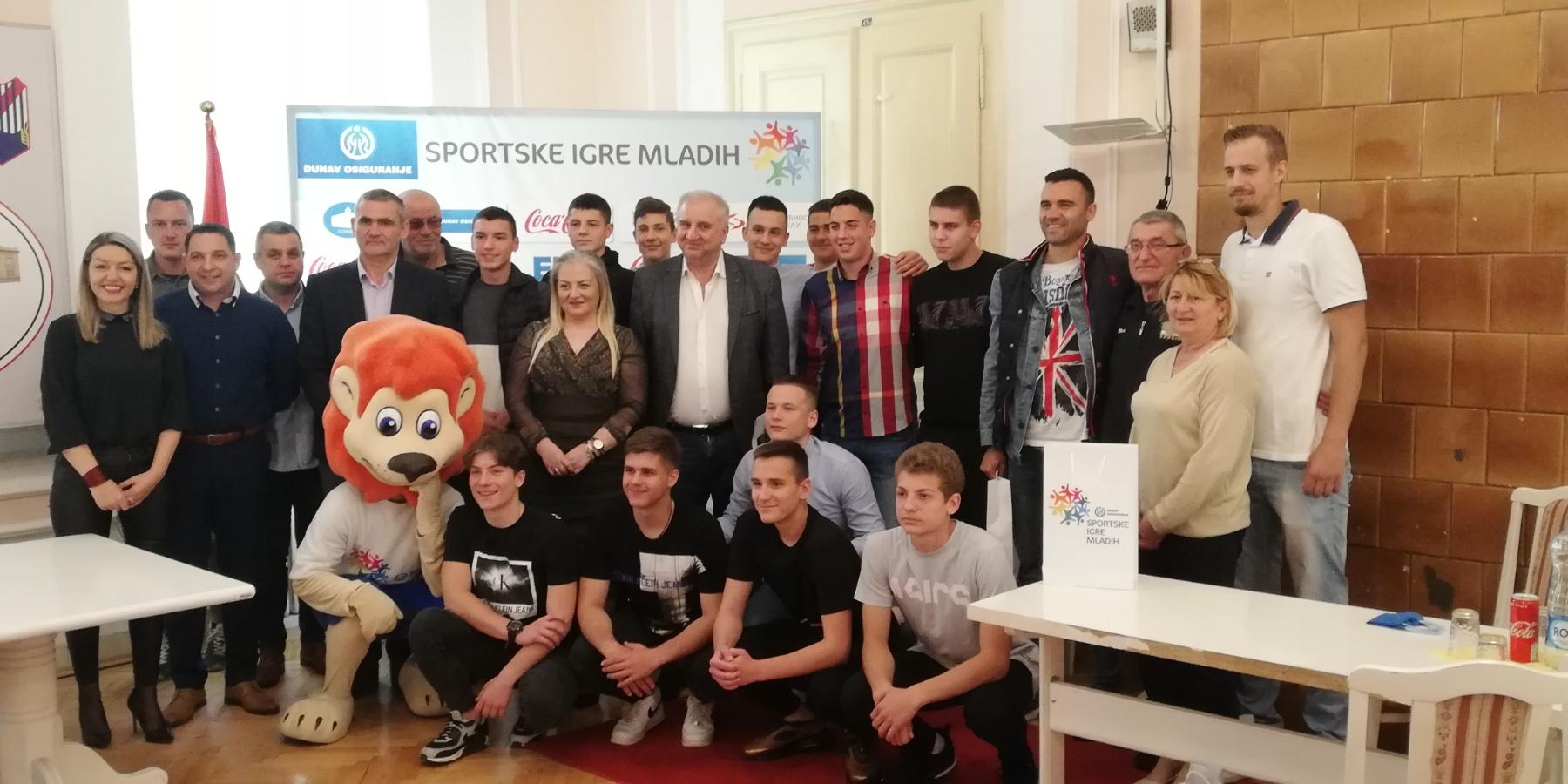 Veliko Gradište: prijem pobednika Sportskih igara mladih 2019 36407