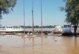 Kod pristaništa kraljice Marije u selu Dubravica izlio se Dunav, odloženo planirano otkrivanje spomen ploče FOTO 37725