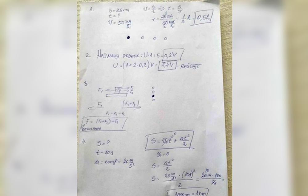 SKANDAL NA MALOJ MATURI Rešenja kombinovanog testa osvanula na društvenim mrežama 37224