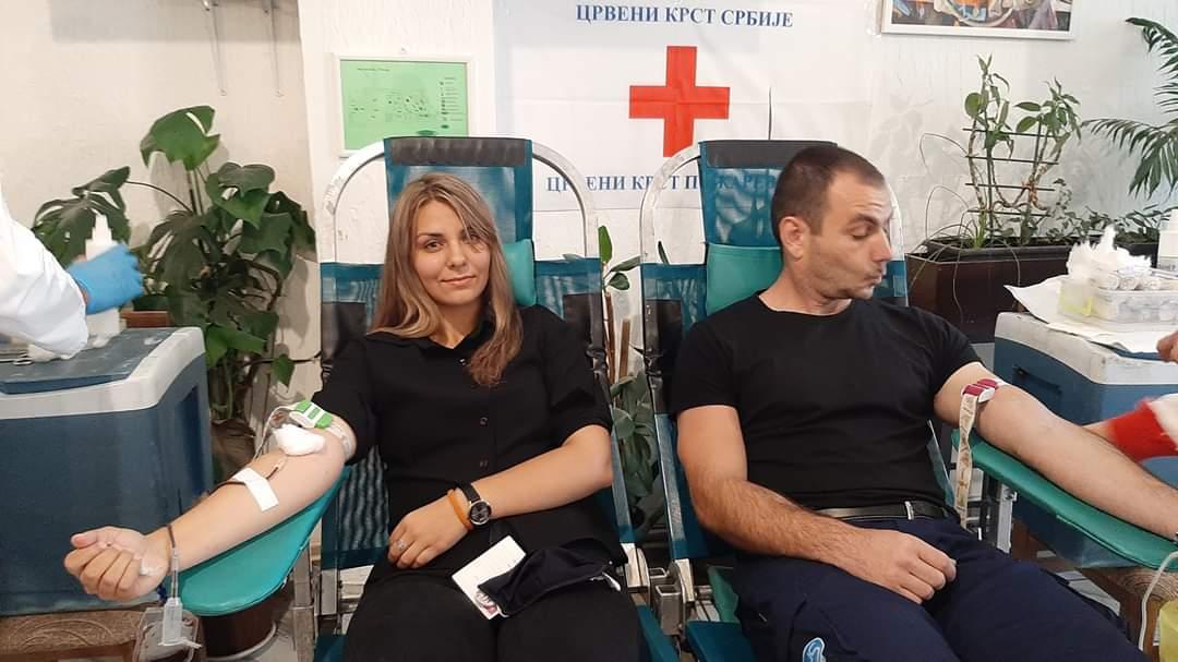 Početak letnje kampanje dobrovoljnog davanja krvi 36295