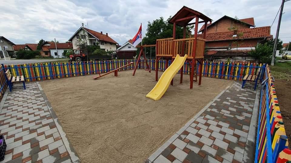 Novo naselje u Petrovcu na Mlavi dobilo igralište 37182