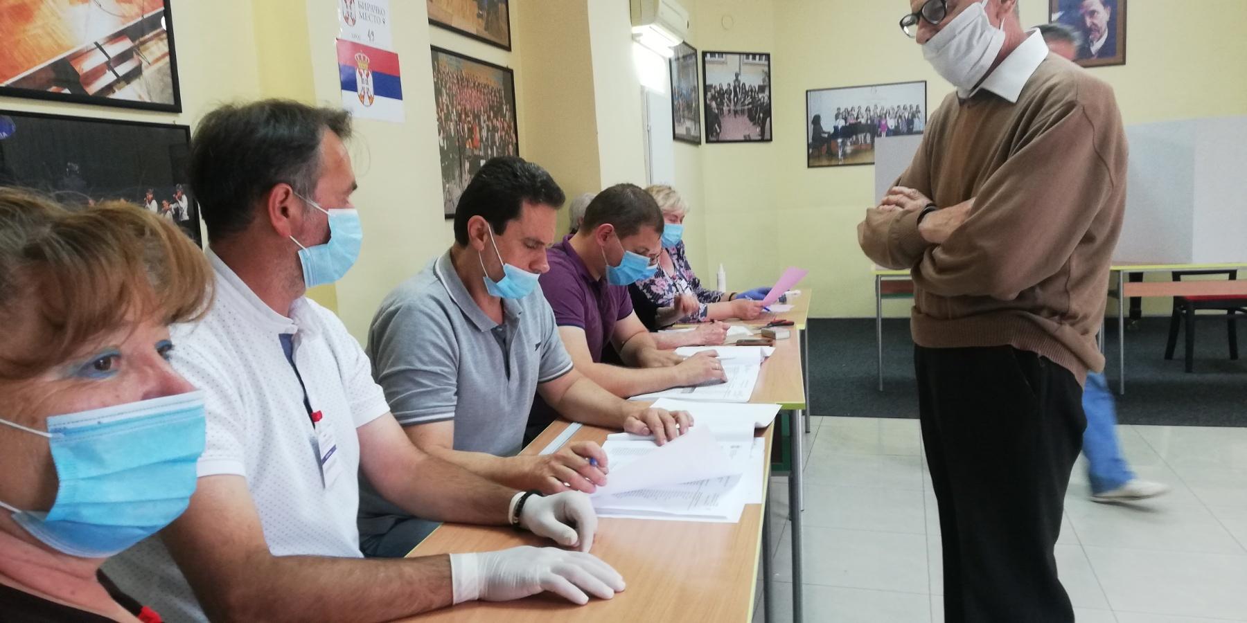 GIK - U Požarevcu do19časova glasalo46% birača 37449