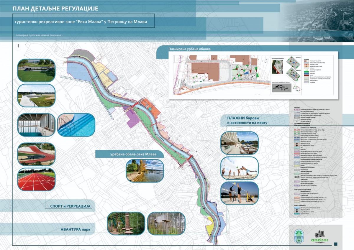"""Plan za turističko rekreativnu zonu – """"Reka Mlava"""" 37322"""