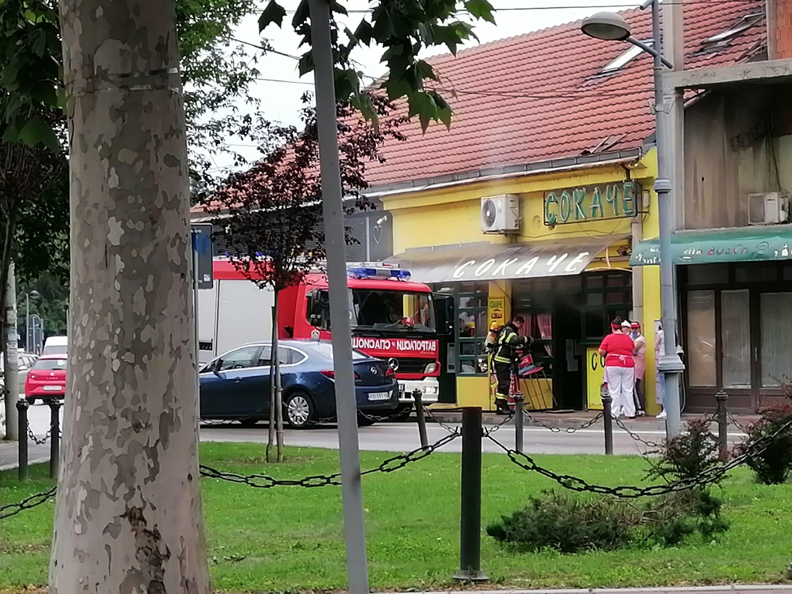 "Požar u restoranu brze hrane ""Sokače"" 36527"