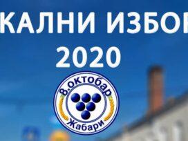 Preliminarni nezvanični rezultati lokalnih izbora 2020. u opštini Žabari 37479