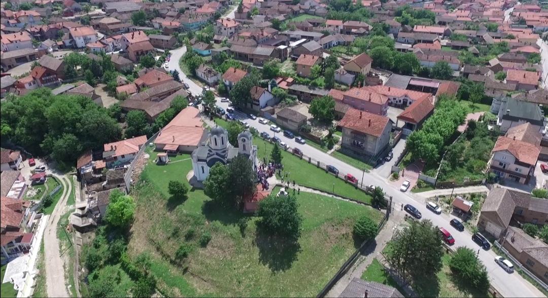 Pao potporni zid oko crkve Svetog Trifuna u Kličevcu FOTO 36537