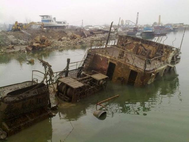 Počinje vađenje 23 potopljena nemačka broda iz Dunava 36325
