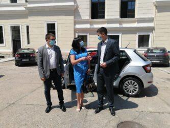 Donacija grada Požarevca: Centar za socijalni rad dobio novi automobil 39539