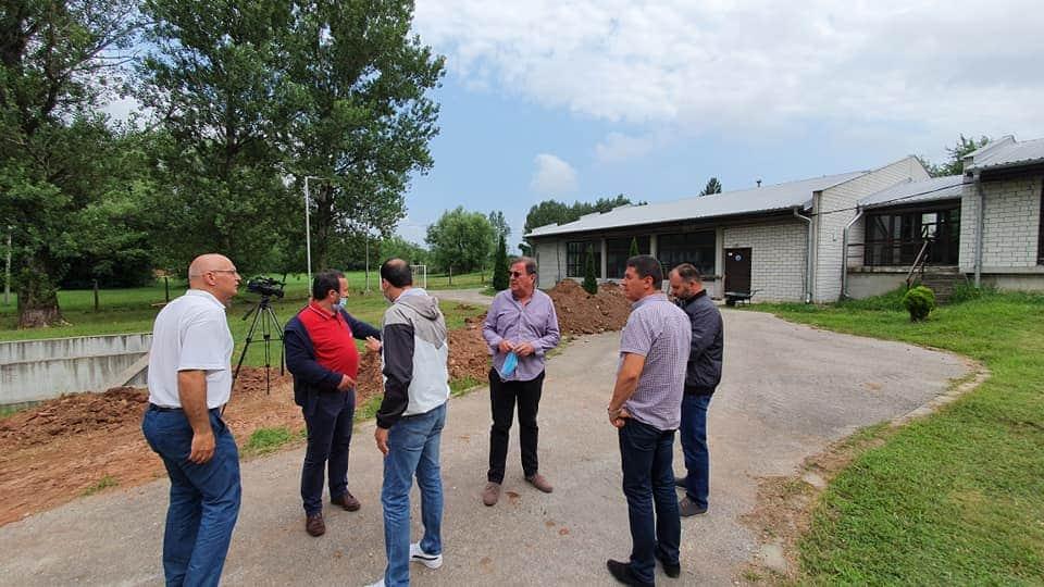Izgradnja priključka za vodosnabdevanje naselja Ćovdin 39286