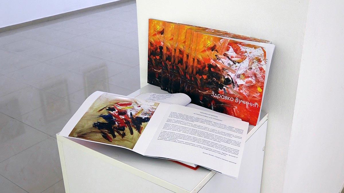 Izložba slika autora Zdravka Vučinića, PROZIRAJI KOSMOSA u Galeriji savremene umetnosti u Požarevcu 38916