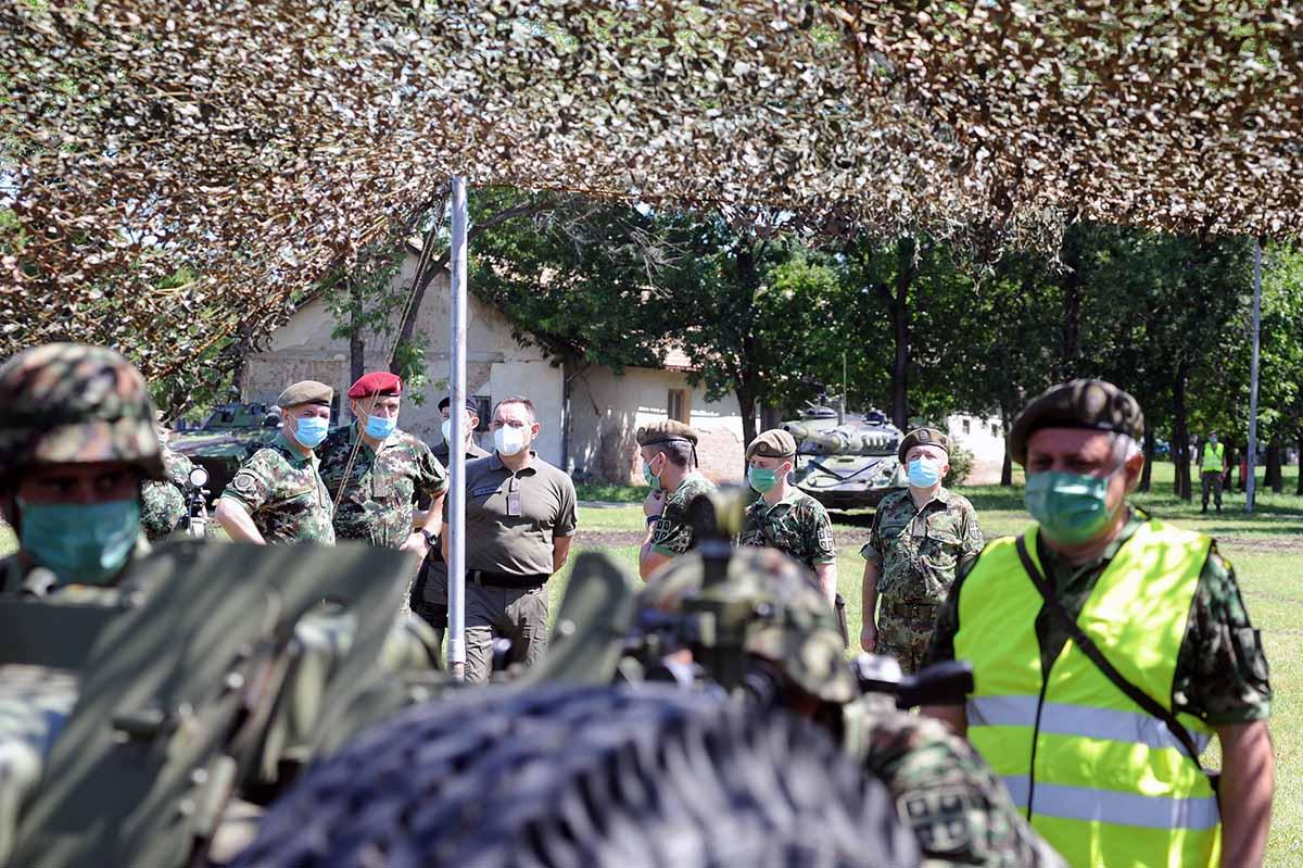 Centar za obuku KoV u Požarevcu: Neprekidna obuka uz poštovanje zdravstvenih preporuka lekara i vojnog saniteta 39121