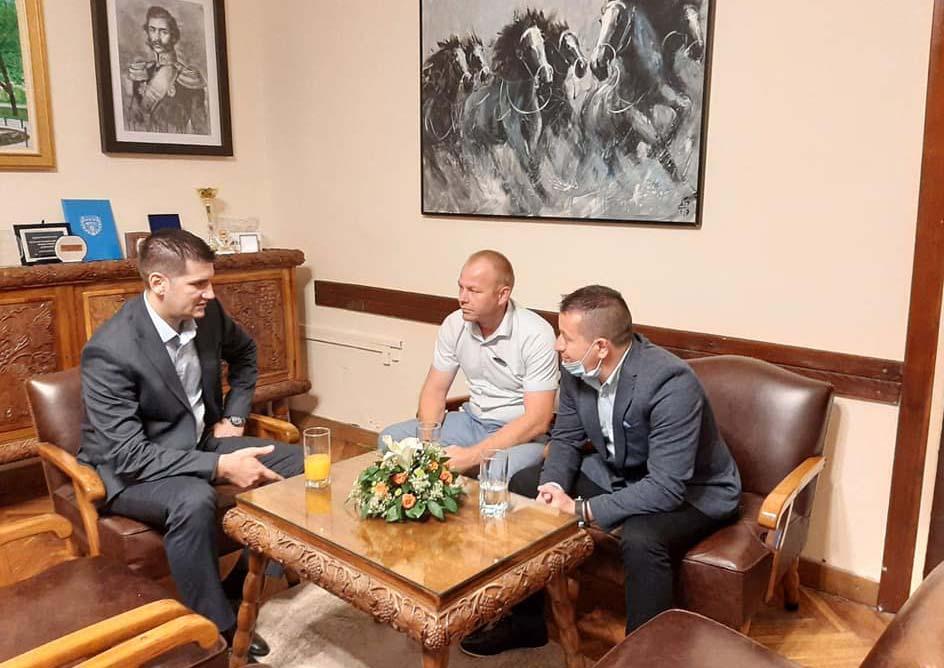 Radni sastanak predstavnika GO Kostolac i gradonačelnika Grada Požarevca 40785