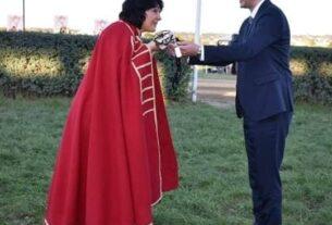 Dr Marija Zdravković počasni vitez 57. Ljubičevskih konjičkih igara 41234