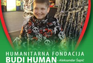 Humanitarna fondacija BUDI HUMAN – Aleksandar Šapić prikuplja novčana sredstva za Pavla Paunovića (2010.) 41439
