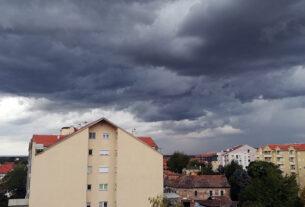 U Požarevcu danas oblačno, mestimično sa slabom kišom 42127
