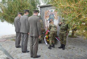 Polaganjem venaca odana počast braniocima Stiga u Prvom svetskom ratu 42532