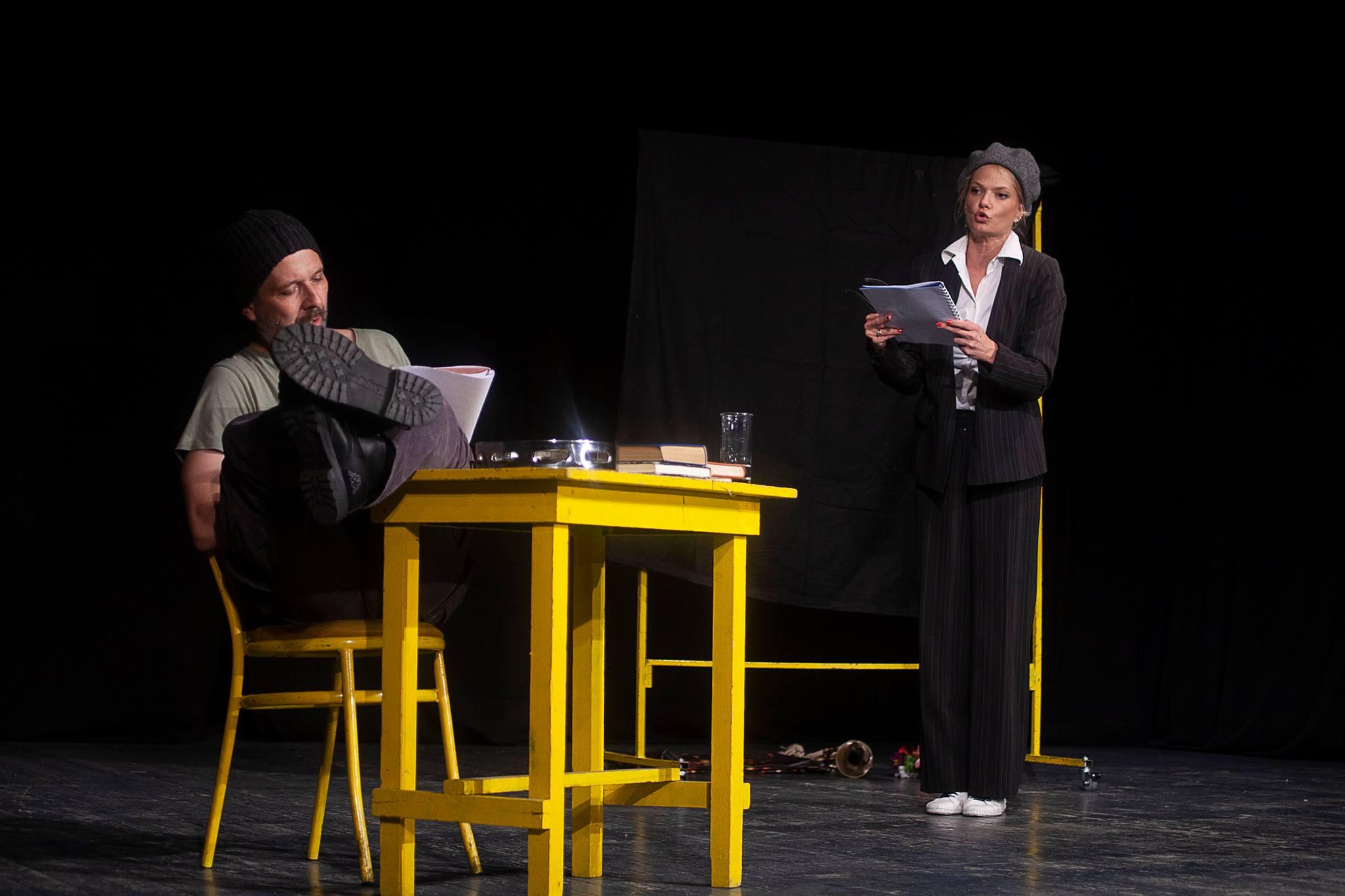 """Pozorišna predstava """"Koštanin tvist"""" prva je vratila publiku u pozorišnu salu u Petrovcu na Mlavi 42758"""