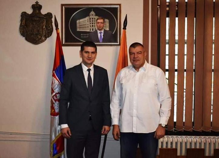"Milorad Grčić direktor JP ""Elektroprivreda Srbije"" danas posetio Grad Požarevac 42227"