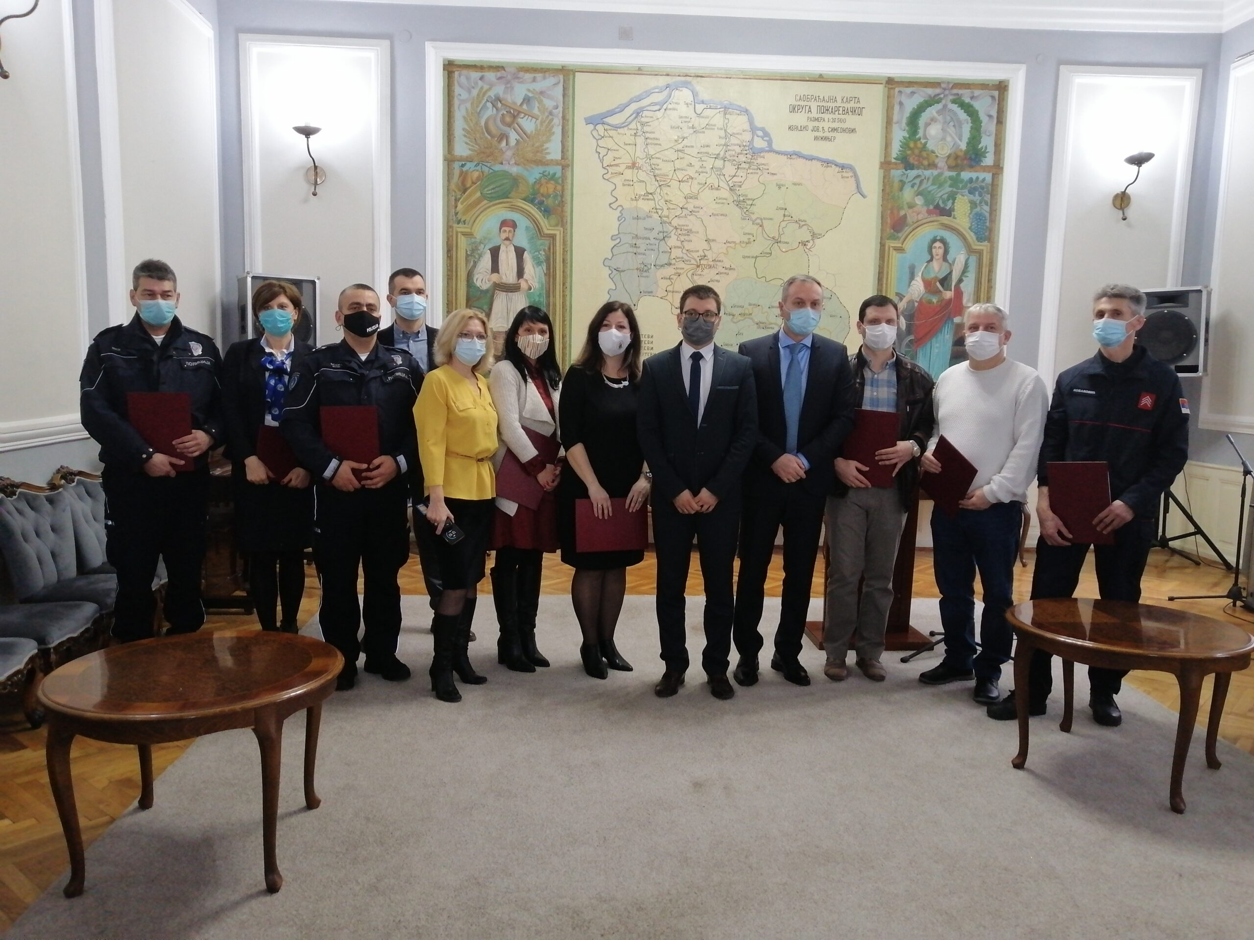 Požarevac: dodeljene nagrade istaknutim radnicima u javnim ustanovama 47259