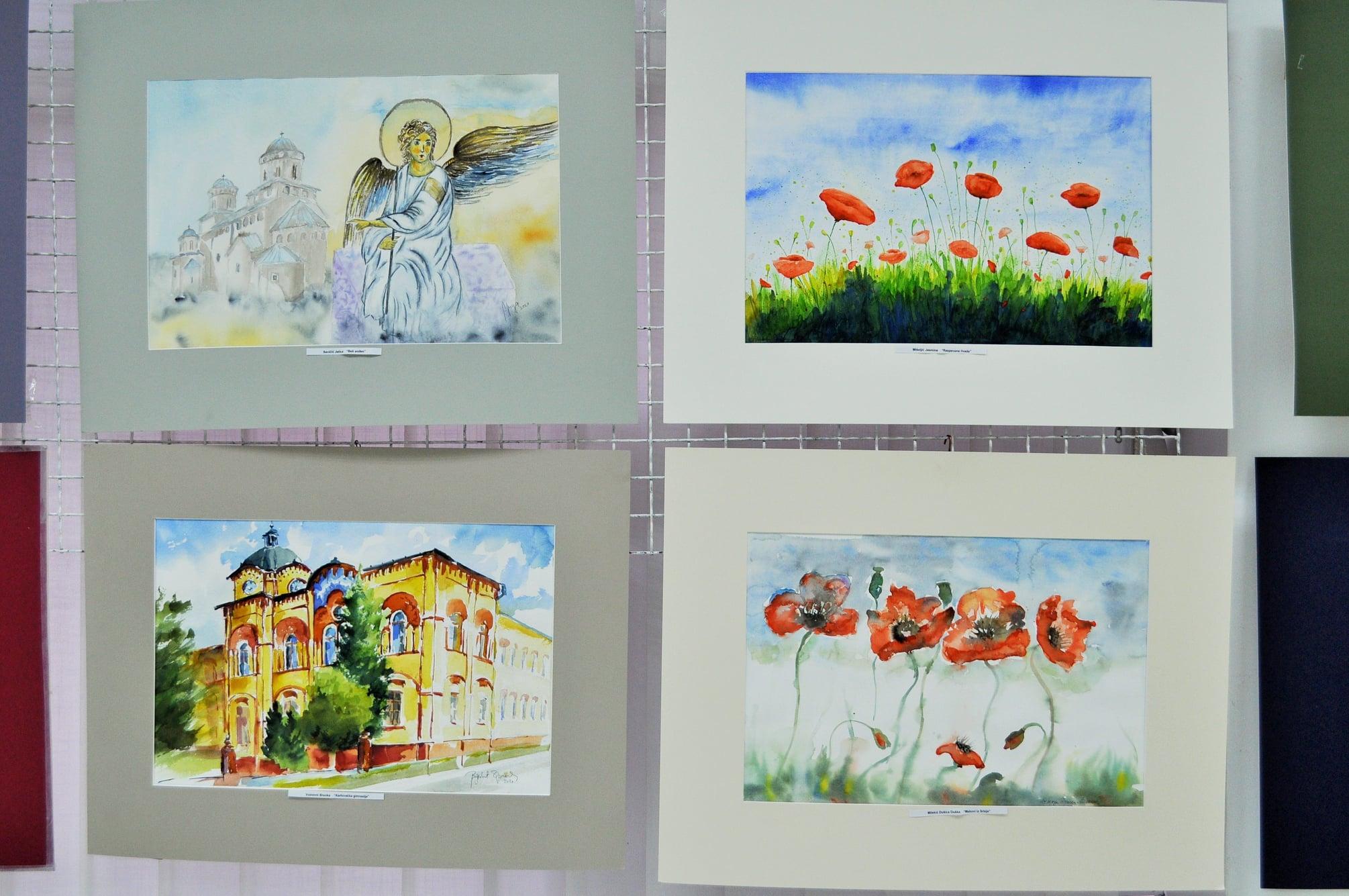 """Izložba akvarela """"Ta divna Srbija"""" u galeriji """"Krug"""" 50466"""